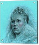 Lagertha Shieldmaiden Acrylic Print