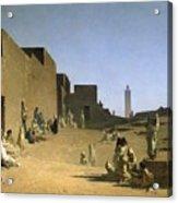 Laghouat In The Algerian Sahara Acrylic Print