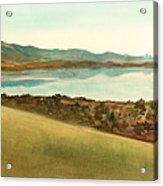 Lago Del Coghinas Acrylic Print
