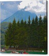Lago Di Barcis Acrylic Print