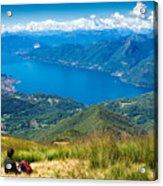 Lago Maggiore Italy Switzerland Acrylic Print