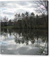Lagoon Reflection 1 Acrylic Print