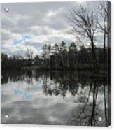 Lagoon Reflections 4 Acrylic Print