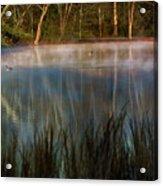 Lagoon Sunrise Acrylic Print