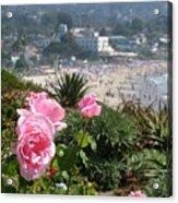 Laguna In Pink Acrylic Print