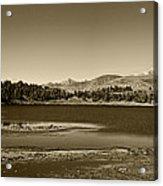 Laguna Mucubaji - Andes Acrylic Print