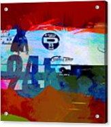Laguna Seca Racing Cars 1 Acrylic Print