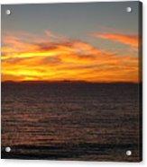 Laguna Sunset View Acrylic Print