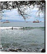 Lahaina Beach Acrylic Print