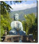 Lahaina Buddha At Jodo  Acrylic Print