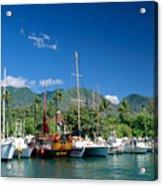 Lahaina Harbor - Maui Acrylic Print