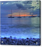 Lahaina Harbor Acrylic Print by Kelly Wade