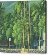 Lahaina Harbor Acrylic Print