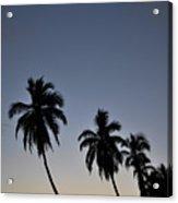 Lahaina Sunset Acrylic Print by Kelly Wade