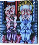 Laissez Faire Acrylic Print by Maryska Torresowa
