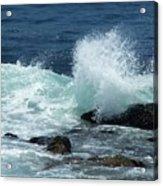 Lajolla Surf Acrylic Print