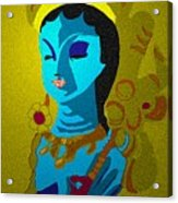 Lakashimi Gold Acrylic Print