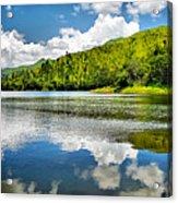 Lake Agua Blanca Acrylic Print
