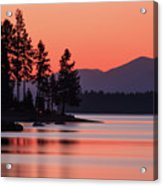 Lake Almanor Twilight Acrylic Print
