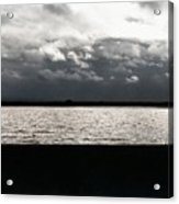 Lake And Clouds Acrylic Print