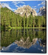 Lake Antorno Acrylic Print