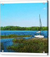 Lake At Hamony Fl Acrylic Print