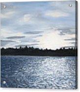Lake At Sunset Acrylic Print