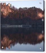 Lake Bled At Dawn Acrylic Print