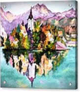 Lake Bled - Slovenia Acrylic Print