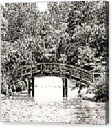 Lake Bridge Acrylic Print