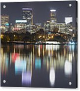 Lake Calhoun Reflection Acrylic Print