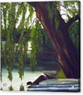 Lake Carmel Landscape Acrylic Print