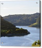 Lake Chabot On A Sunny Day Acrylic Print