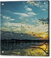Lake Champlain Vermont Sunrise - 2 Landscape Acrylic Print