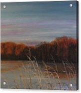 Quiet Lake Morning At Lake Dunn Village Creek State Park Ar Acrylic Print