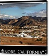 Lake Elsinore 2008 Acrylic Print