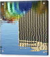 Lake Eola Reflections Acrylic Print