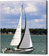 Lake Erie Sailing 8092 Acrylic Print