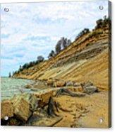 Lake Erie Shoreline Acrylic Print