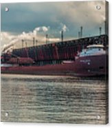 Lake Freighter - Honorable James L Oberstar Acrylic Print