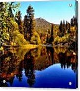 Lake Fulmor - Idyllwild, Ca Acrylic Print