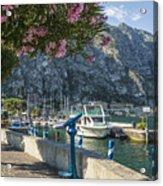 Lake Garda Harbour Of Limone Sul Garda Acrylic Print