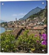 Lake Garda Limone Sul Garda Acrylic Print