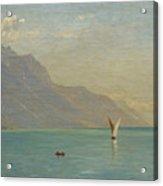 Lake Geneva. Switzerland Acrylic Print