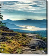Lake George From Cat Mountain 1 Acrylic Print