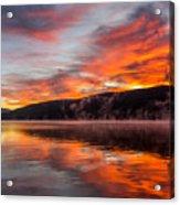 Lake George Sunrise Acrylic Print