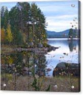Lake Gustav Adolf Sweden Acrylic Print