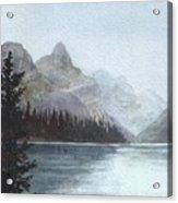 Lake Helevorn Acrylic Print