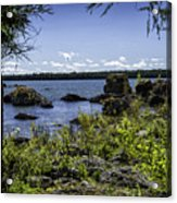 Lake Huron Cedarville Michigan Acrylic Print