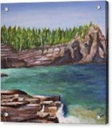 Lake Huron Acrylic Print